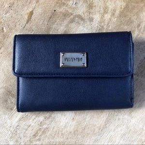 Navy Trifold Kenneth Cole Reaction Wallet